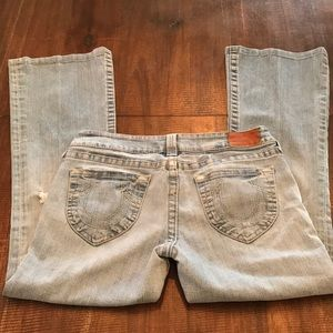 True Religion jeans Size 31 distressed